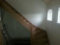 Eiken onder kwart trap