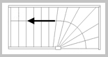 Trap met onderkwart links