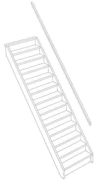 3d trappen d houten trappen specialist for Vurenhouten steektrap