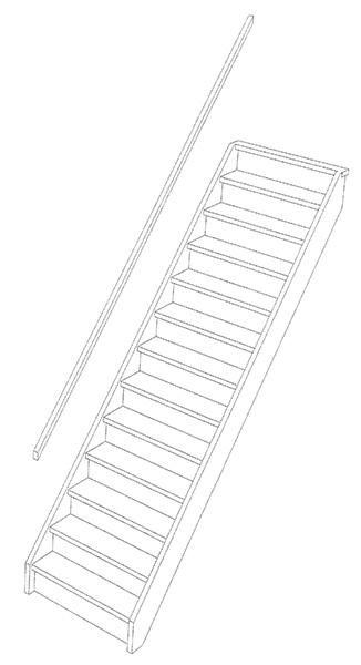 Trapmodellen d houten trappen specialist for Vurenhouten steektrap